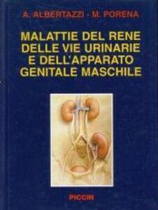 Libro Malattie del rene, delle vie urinarie e dell'apparato genitale maschile Alberto Albertazzi , Massimo Porena
