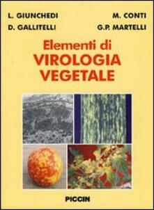 Secchiarapita.it Elementi di virologia vegetale Image