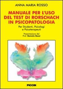 Vitalitart.it Manuale per l'uso del test di Rorschach in psicolpatologia Image
