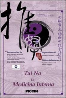 Nicocaradonna.it Tui na in medicina interna. DVD Image