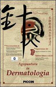Agopuntura in dermatologia. DVD - Ying Wu - copertina