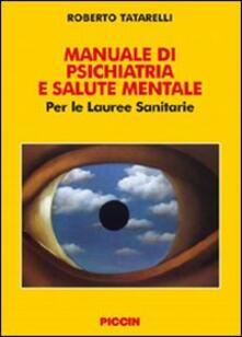 Equilibrifestival.it Manuale di psichiatria e salute mentale. Per le lauree sanitarie Image
