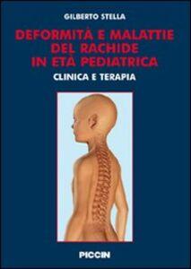 Deformità e malattie del rachede in età pediatrica