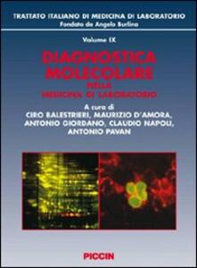 Diagnostica molecolare nella medicina di laboratorio - copertina