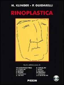 Rinoplastica. Con DVD - M. Klinger,R. Guidarelli - copertina