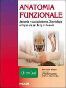 Winniearcher.com Anatomia funzionale. Anatomia muscoloscheletrica, chinesiologia e palpazione per terapisti manuali Image