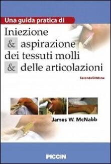 Aboutschuster.de Iniezione e aspirazione dei tessuti molli e delle articolazioni. Una guida pratica Image