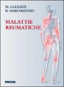 Malattie reumatiche - Mauro Galeazzi,Roberto Marcolongo - copertina