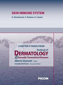 Skin immune system. Chapter 6 taken from Textbook of dermatology & sexually trasmitted diseases