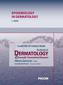 Epidemiology in dermatology. Chapter 29 taken from Textbook of dermatology & sexually trasmitted diseases