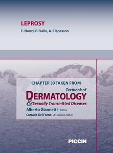 Leprosy. Chapter 33 taken from Textbook of dermatology & sexually trasmitted diseases