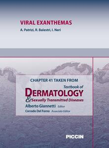 Viral exanthemas. Chapter 41 taken from Textbook of dermatology & sexually trasmitted diseases