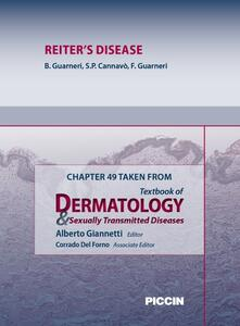 Reiter's disease. Chapter 49 taken from Textbook of dermatology & sexually trasmitted diseases