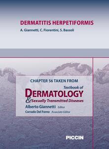 Dermatitis herpetiformis. Chapter 56 taken from Textbook of dermatology & sexually trasmitted diseases