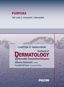 Purpura. Chapter 57 taken from Textbook of dermatology & sexually trasmitted diseases