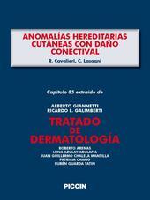 Anomalías hereditarias cutáneas con daño conectival. Capítulo 85 extraído de Tratado de dermatología