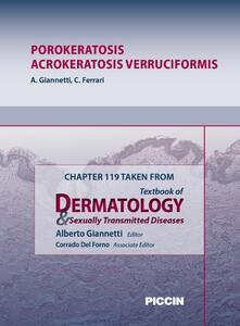 Porokeratosis, acrokeratosis verruciformis. Chapter 119 taken from Textbook of dermatology & sexually trasmitted diseases