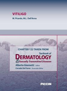 Vitiligo. Chapter 122 taken from Textbook of dermatology & sexually trasmitted diseases