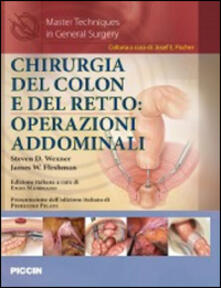 Chirurgia del colon e del retto. Operazioni addominali.pdf