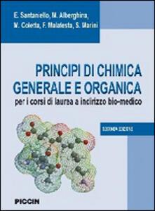 Principi di chimica generale e organica. Per i corsi di laurea a indirizzo bio-medico - copertina
