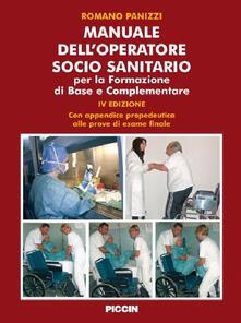 Promoartpalermo.it Manuale dell'operatore socio sanitario. Per la formazione di base e complementare Image