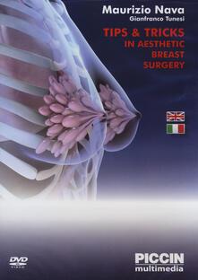Partyperilperu.it Tips & tricks in aesthetic breast surgery. 2 DVD Image