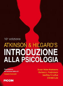 Radiospeed.it Atkinson & Hilgard's. Introduzione alla psicologia Image
