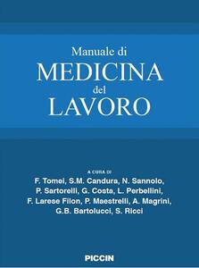 Manuale di medicina del lavoro - copertina