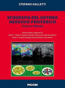 Ecografia del sistema nervoso periferico. Testo e atlante - Stefano Galletti - copertina
