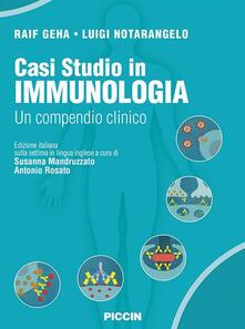 Parcoarenas.it Casi studio in immunologia clinica. Un compendio clinico Image
