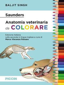 Voluntariadobaleares2014.es Saunders. Anatomia veterinaria da colorare Image