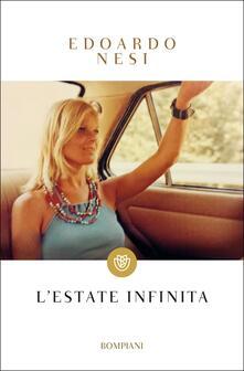 L' estate infinita - Edoardo Nesi - copertina