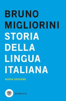 Storia della lingua italiana. Nuova ediz. - Bruno Migliorini - copertina