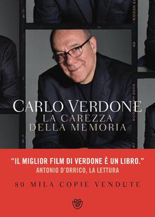 La carezza della memoria - Carlo Verdone - copertina