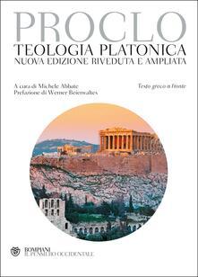 Premioquesti.it Teologia platonica. Testo greco a fronte Image