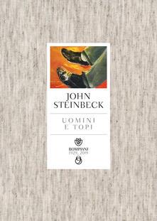 Uomini e topi - John Steinbeck - copertina