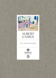 Lo straniero - Albert Camus - copertina