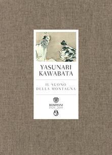 Il suono della montagna - Yasunari Kawabata - copertina