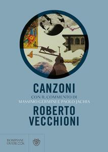 Libro Canzoni Roberto Vecchioni