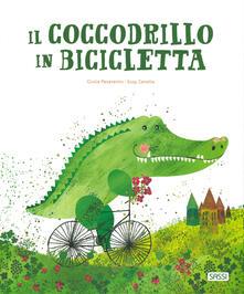 Promoartpalermo.it Il coccodrillo in bicicletta. Ediz. a colori Image