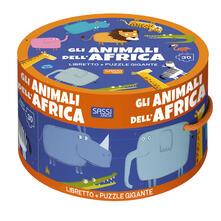Listadelpopolo.it Gli animali dell'Africa. Ediz. a colori. Con puzzle Image