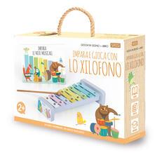 Grandtoureventi.it Impara e gioca con lo xilofono. Giochi di legno. Ediz. a colori. Con gadget Image