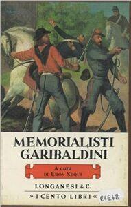 Libro Memorialisti garibaldini