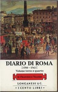 Diario di Roma vol. 3-4: 1704-1728