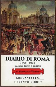 Libro Diario di Roma vol. 5-6: 1729-1742 Francesco Valesio