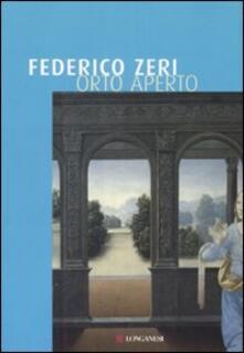 Orto aperto - Federico Zeri - copertina