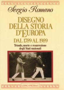 Writersfactory.it Disegno della storia d'Europa dal 1789 al 1989 Image
