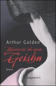 Memorie di una geisha - Arthur Golden - copertina