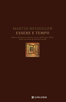 Essere e tempo - Martin Heidegger - copertina