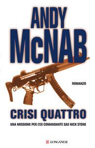 Libro Crisi quattro Andy McNab